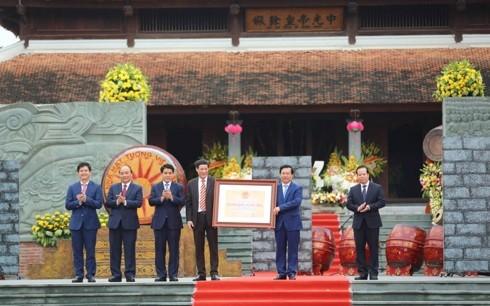 阮春福出席玉回-栋多大捷230周年纪念仪式并上香 - ảnh 2