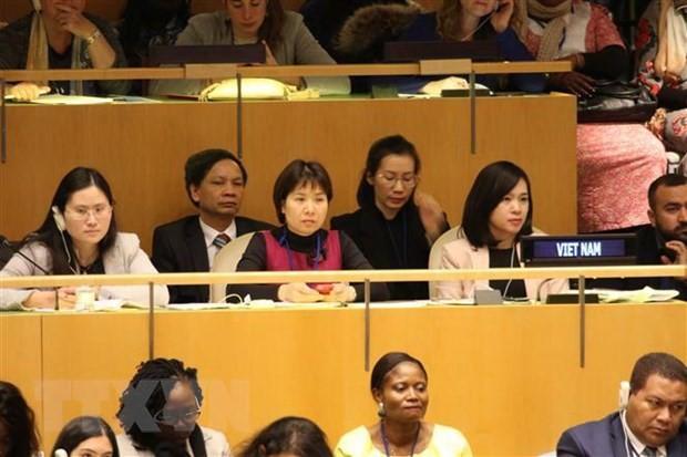 越南参加联合国有关提高工业领域妇女地位的会议 - ảnh 1