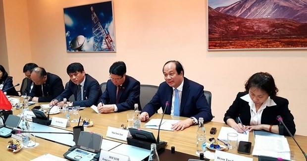 越南和俄罗斯推动电子政务建设合作 - ảnh 1