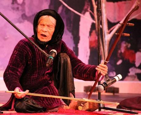 盲人曲——需要保护的越南民间音乐 - ảnh 1