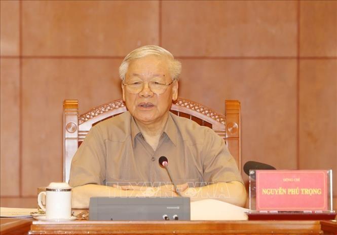越共中央总书记、国家主席阮富仲:继续推进反腐败工作 - ảnh 1