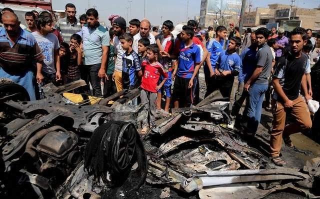 Bomb blasts cause heavy casualties in Iraq - ảnh 1