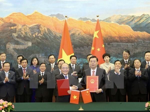 Chinese media highlight NA Chairman Nguyen Sinh Hung's visit  - ảnh 1