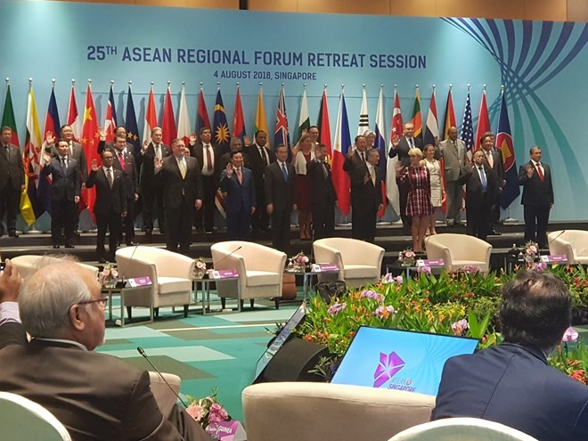 ARF urged to continue trust building measures, preventive diplomacy - ảnh 1