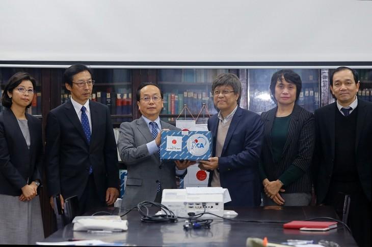 Japan helps Vietnam with rapid nCoV identification - ảnh 1