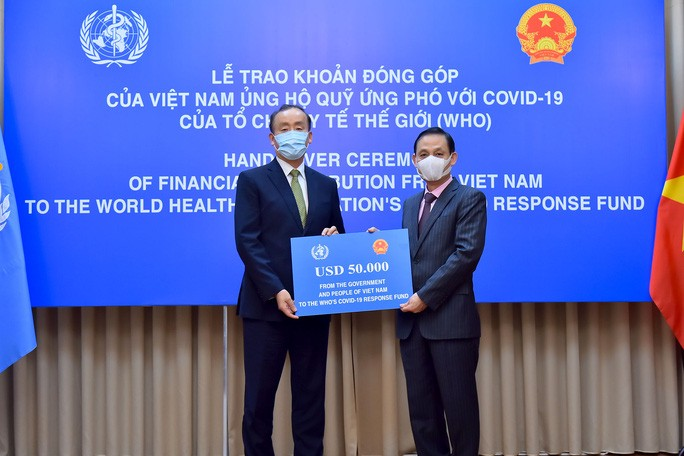Vietnam contributes to WHO's Covid-19 Response Fund - ảnh 1
