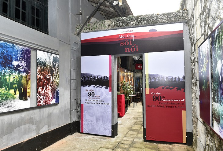 Hanoi's display features youth's contributions to national construction and defense - ảnh 1