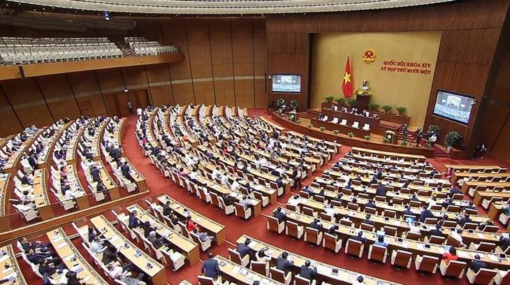 Bế mạc kỳ họp cuối cùng của nhiệm kỳ Quốc hội khóa XIV - ảnh 1