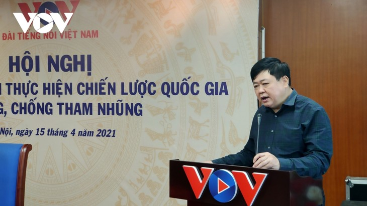 VOV reviews 10 years implementing national corruption prevention program  - ảnh 1
