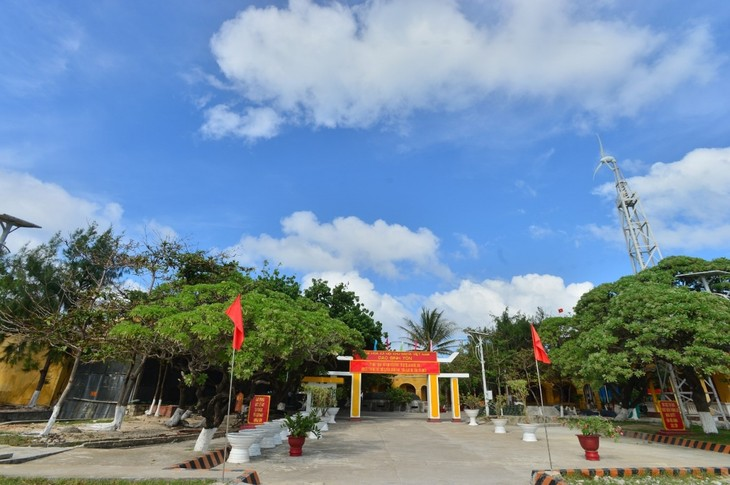 Remarkable changes in Truong Sa island district - ảnh 1