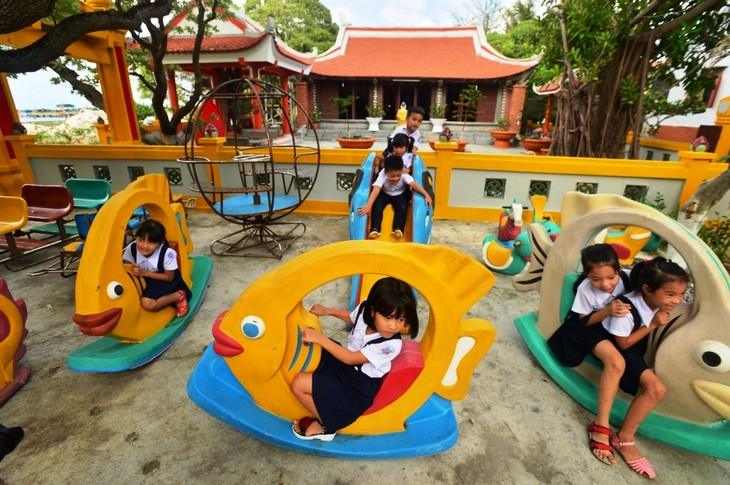 Remarkable changes in Truong Sa island district - ảnh 3