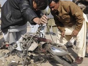 Muertos y heridos por estallido de bomba en Pakistán - ảnh 1