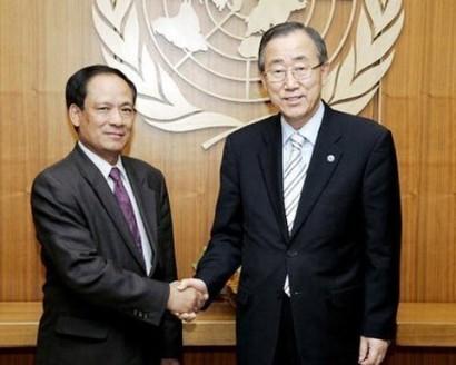 Le Luong Minh, primer vietnamita en puesto de Secretario General de ASEAN - ảnh 1