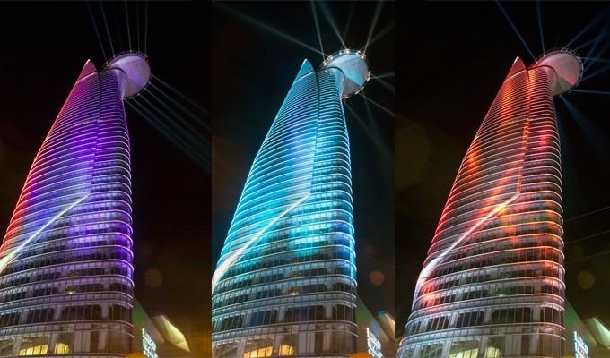 Torre Bitexco, símbolo de prosperidad y dinamismo de Ciudad Ho Chi Minh - ảnh 2