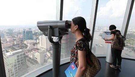 Torre Bitexco, símbolo de prosperidad y dinamismo de Ciudad Ho Chi Minh - ảnh 3
