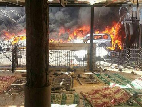 Dobles atentados con bomba en el Líbano dejan 400 bajas - ảnh 1