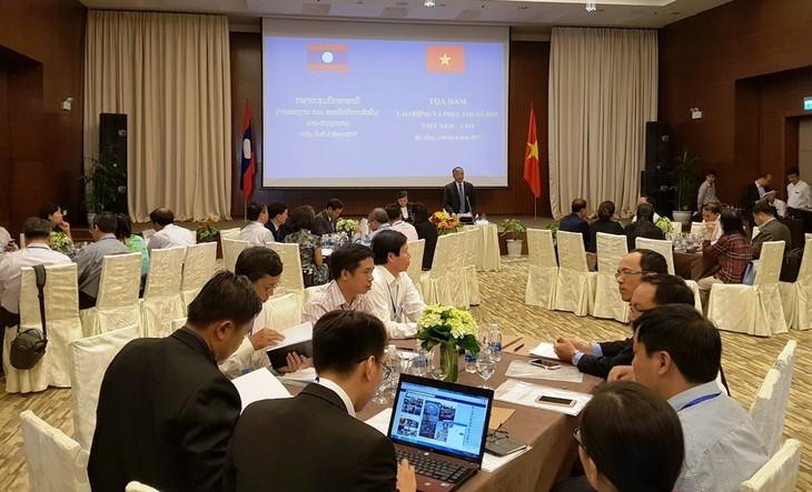 Vietnam y Laos fortalecen la cooperación laboral y de seguridad social  - ảnh 1