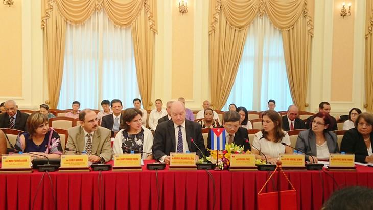 Inauguran la 35 reunión del Comité Intergubernamental entre Vietnam y Cuba  - ảnh 1