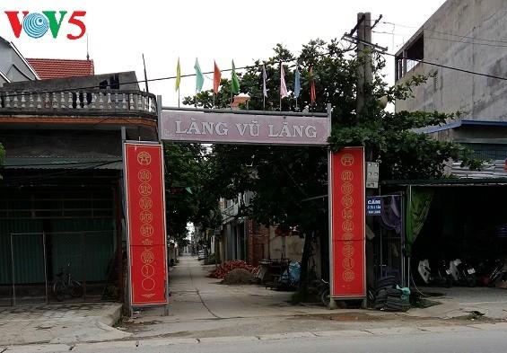 Aldea de escultura de estatuas de Vu Lang - ảnh 1