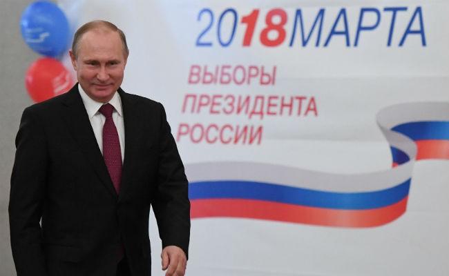 Líderes mundiales felicitan a Putin por su victoria en las eleciones presidenciales rusas - ảnh 1