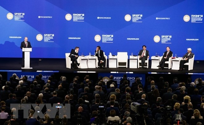 Vietnam aporta al éxito del Foro Económico Internacional de San Petersburgo 2018  - ảnh 1