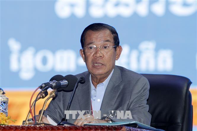 Premier de Camboya inicia visita a Vietnam  - ảnh 1