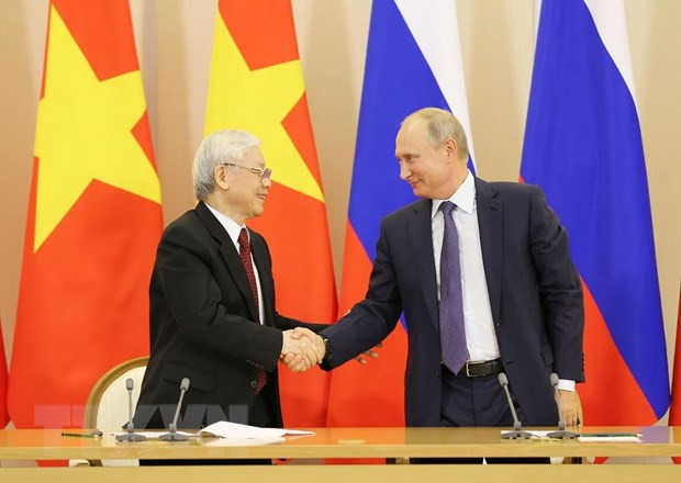 Vietnam y Rusia intercambian felicitaciones por 25 aniversario de tratado de amistad - ảnh 1