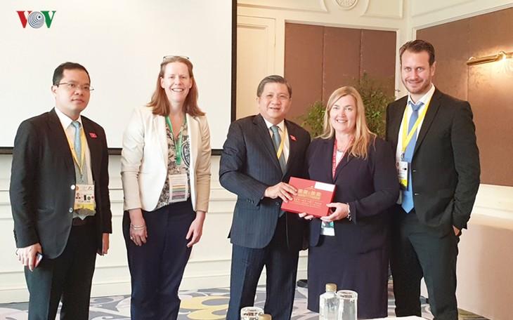 Noruega participará en la 41 Asamblea Interparlamentaria de la Asean en Vietnam  - ảnh 1