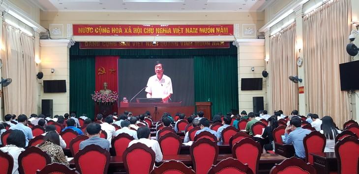 Conferencia en línea acerca de enseñanzas del presidente Ho Chi Minh sobre la movilización de masas - ảnh 1