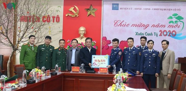 Actividades dirigidas a soldados y pescadores en ocasión del Tet - ảnh 1