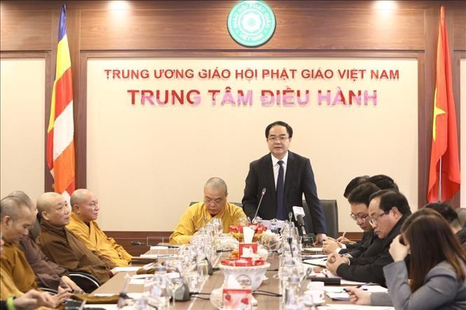 Organizaciones religiosas en Vietnam suspenden actividades debido a la propagación del Covid-19 - ảnh 1