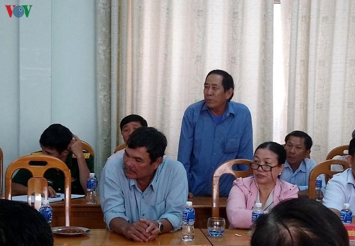 Pescadores de Binh Thuan determinados a aferrarse a aguas nacionales - ảnh 1