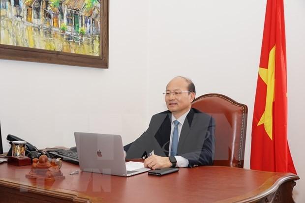 Vietnam comparte experiencias en aplicación de tecnología nuclear en respuesta al covid-19 - ảnh 1