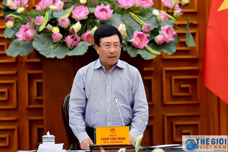 Vicepremier vietnamita destaca aprovechamiento de acuerdos de libre comercio en periodo de integración - ảnh 1