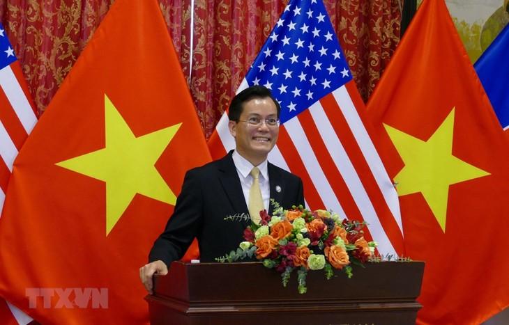 Embajada vietnamita en Estados Unidos celebra 25 años de nexos binacionales - ảnh 1