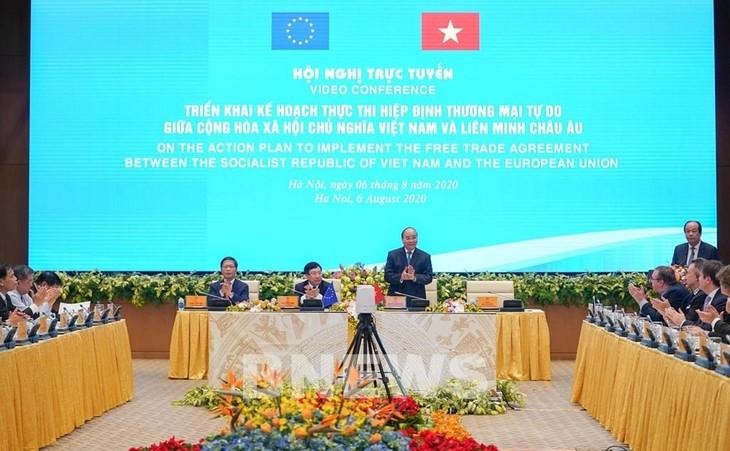 Vietnam aprueba plan para implementación del EVFTA - ảnh 1