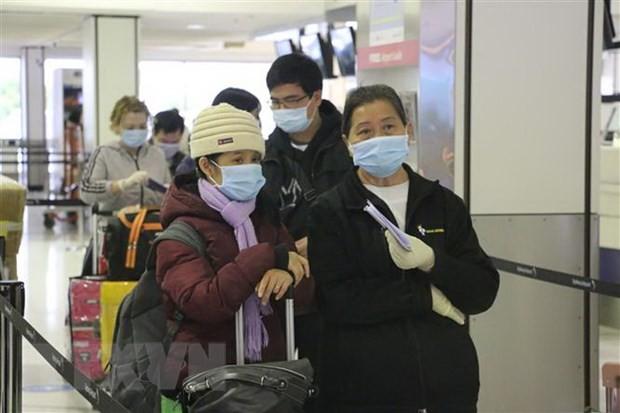 Vietnam recibe a otros 340 compatriotas varados en Rusia - ảnh 1