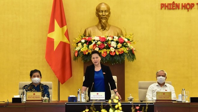 Clausuran 47 sesión del Comité Permanente de la Asamblea Nacional de Vietnam  - ảnh 1