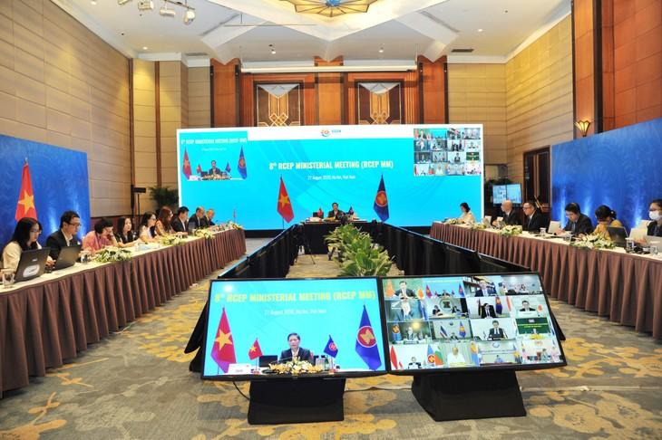 Hacia la firma del Acuerdo de Asociación Económica Integral Regional a finales de 2020 - ảnh 1