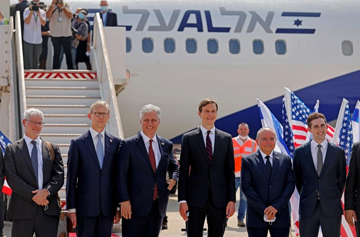 Se opera el primer vuelo directo entre Israel y Emiratos Árabes Unidos - ảnh 1