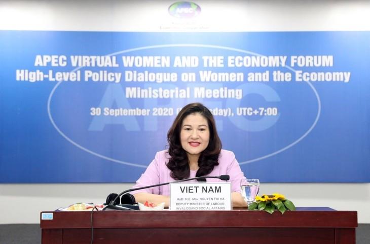 El Foro de Mujeres y Economía de APEC 2020 contribuye a elevar empoderamiento económico de féminas - ảnh 1