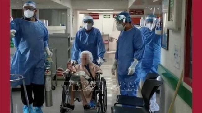 Una mujer de 103 años sobrevive al coronavirus en México - ảnh 1