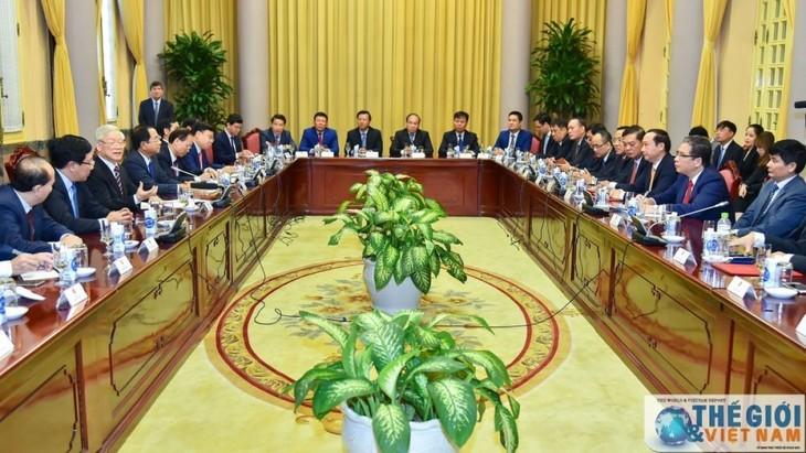 Vietnam por optimizar sus relaciones externas - ảnh 1