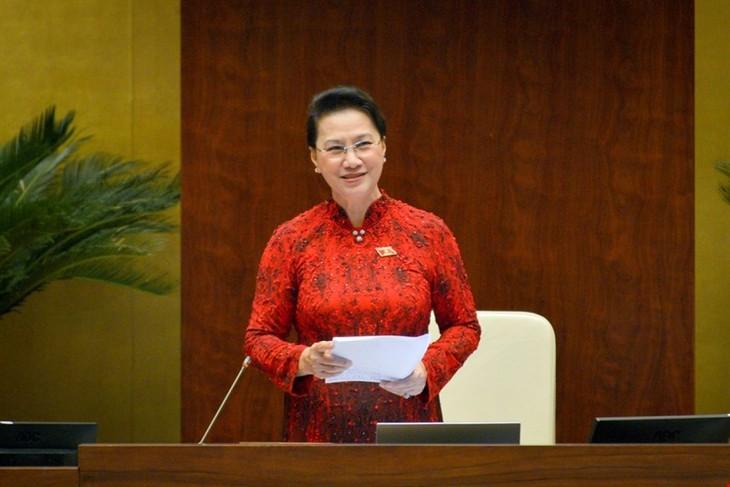 Relevo de Nguyen Thi Kim Ngan como presidenta de la Asamblea Nacional  - ảnh 1
