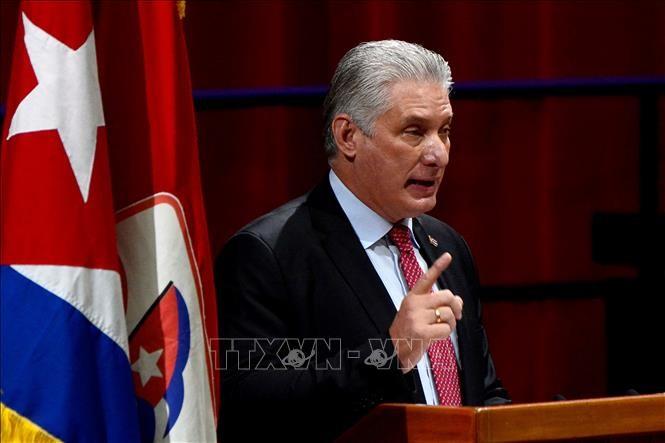Dirigentes mundiales felicitan al nuevo líder del Partido Comunista de Cuba  - ảnh 1