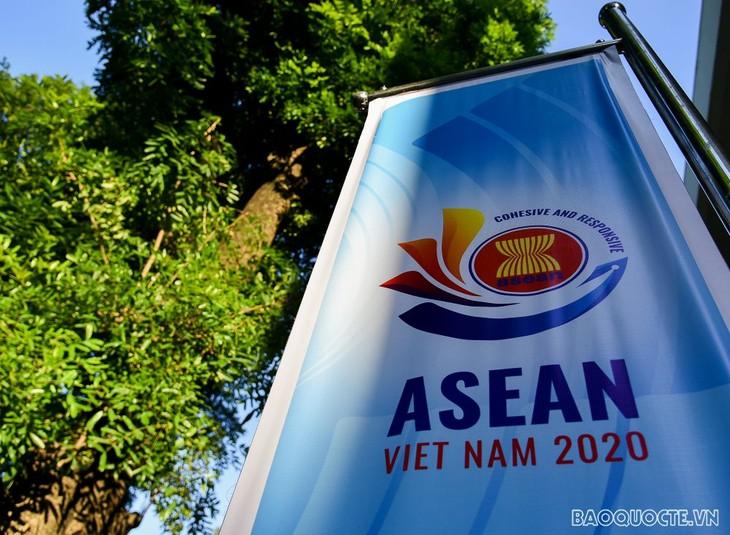Vietnam y los países de la Asean se unen para abordar los problemas regionales     - ảnh 1