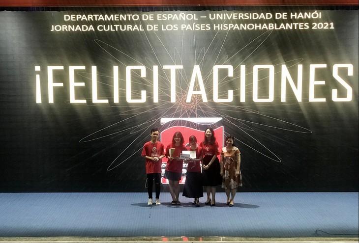 Concluye la Semana Cultural de los Países Hispanohablantes - ảnh 1