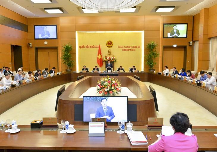 Inauguran la 55 reunión del Comité Permanente de la Asamblea Nacional - ảnh 1