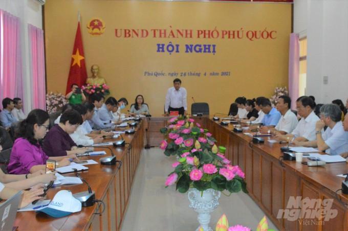 Diálogo en Kien Giang sobre productos OCOP orientados a la exportación - ảnh 1