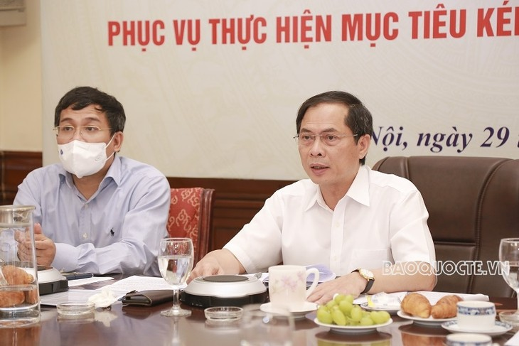 Vietnam promueve diplomacia económica para lograr doble objetivo - ảnh 1